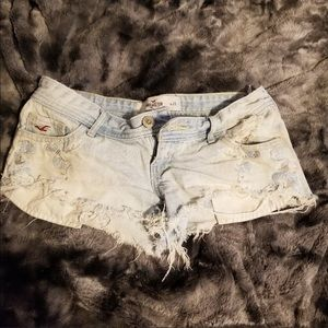 Hollister Shorts with Embellishments